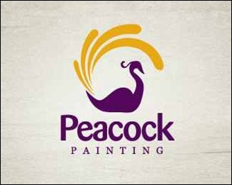 peacock-painting